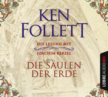 """""""Die Säulen der Erde"""" als Audio CDs aus dem Lübbe Audio Verlag"""